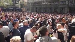 Сербія: резиденцію президента оточили пікетувальники – відео