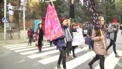 კაბა დროშად - მსვლელობა ქალებისთვის