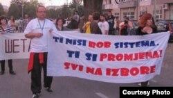 Protest 28. septembra, Banjaluka, foto: Buka