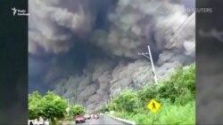 Внаслідок виверження вулкана в Гватемалі загинули 69 людей (відео)