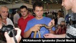 Aleksandr Ignatenko is an entomologist from Rostov-on-Don.