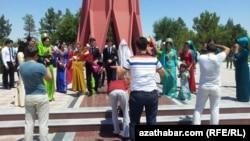 Свадьба в Мары, Туркменистан. Иллюстративное фото.