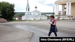 Соборная площадь, город Касимов, 21 июля 2012 года