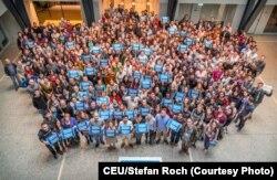 Студенты Центрально-Европейского университета