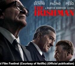 این فیلم ۱۵۹ میلیون دلاری با حضور رابرت دنیرو، آل پاچینو و جو پشی ساخته شده است.