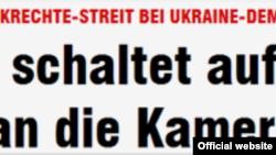 Titlu din cotidianul german Bild