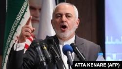Міністр закордонних справ Ірану Мохаммад Джавад Заріф виступає на конференції в Тегерані 21 жовтня 2019 року
