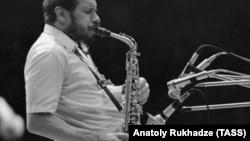 Владимир Чекасин на джаз-фестивале в Тбилиси, 1986 год