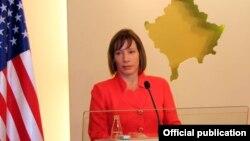 Ambasadorja amerikane në Prishtinë, Tracey Jacobson.