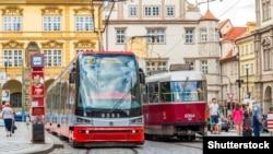 Tramvaie la Praga
