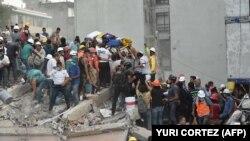Після землетрусу у Мехіко, Мексика, 19 вересня 2017 року