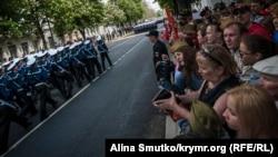 Парад в Севастополе, 9 мая 2017 года