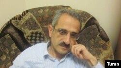 Azerbaijan -- Editor and journalist Hilal Mammadov, Tolishi Sada newspaper, Baku, 22Jun2012