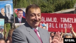 Prezident İlham Əliyev regionlarda. 17 avqust 2006
