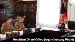 افغانستان: ولسمشر اشرف غني او د پاکستان پوځ مشر جنرل قمر باجوه