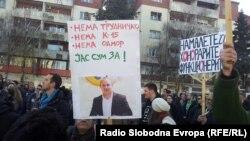 Sa protesta u Skoplju