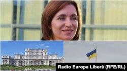 MOldova - Maia Sandu, România, Ucraina
