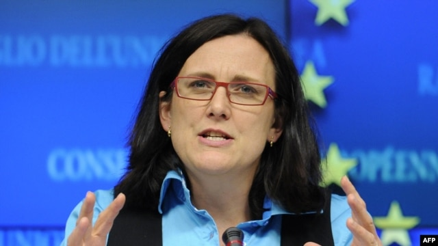 EU Home Affairs Commissioner Cecilia Malmstrom admitted that question marks still remain over exactly when border controls can be reinstated and whether the EU Commission should be the final arbiter in such a situation.