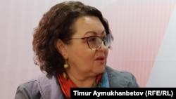 Депутат мажилиса парламента Ирина Смирнова.