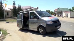 """Autobuzul campaniei """"AICI este Europa Liberă"""" a oprit în peste 20 de localități"""