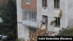 Тбилиси. Маршо Радион архивера сурт.