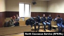 Молодые активисты в ожидании решения суда