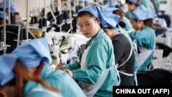 Текстильная фабрика в Хуайбее на востоке Китая (Иллюстративное фото).