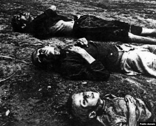 Ілюстрацыйнае фота. Ахвяры Галадамору ва Ўкраіне. 1933 год