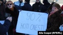 """Protestul PPDA: """"oamenii oneşti"""" ai premierului Pavel Filip şi raportul Kroll 2"""