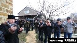 Похороны врача и делегата Курултая Исы Джемилева