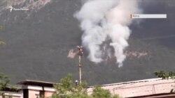 Пожежа в Криму: в Ялті горить ліс (відео)
