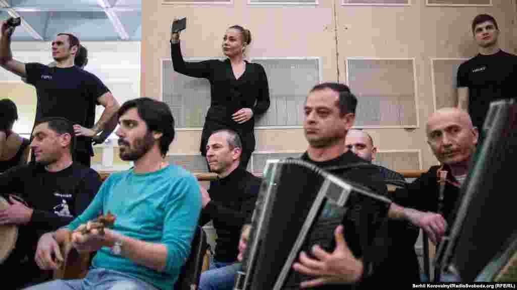Ансамбль Rustavi привіз у Київ своїх музикантів