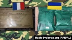 Сухпайки збройних сил України і Франції