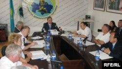 Заседание Общественного совета по социальным проблемам. Алматы, 4 сентября 2008 года.