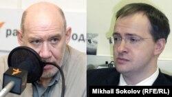 Георгий Сатаров и Владимир Мединский