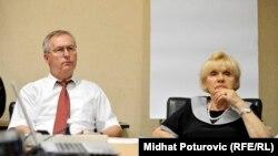 Milenko Voćkić i Fadila Memišević na promociji projekta, foto: Midhat Poturović