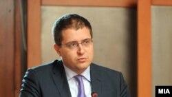 Министерот за образовование Панче Кралев