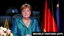 Գերմանիա - Կանցլեր Անգել Մերկելի տոնական ուղերձը, Բեռլին, 31-ը դեկտեմբերի, 2019թ.