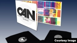 Фрагмент промо-плаката к альбому Singles группы Can