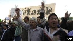 احدى المظاهرات المطلبية في ساحة التحرير