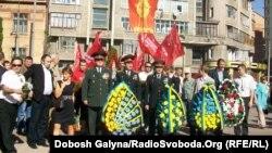 Хода комуністів до Дня перемоги, Івано-Франківськ, 9 травня 2013 року
