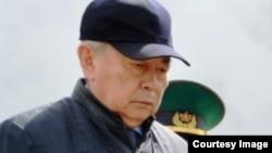 Нуртай Абыкаев в бытность председателем комитета национальной безопасности (КНБ) Казахстана.