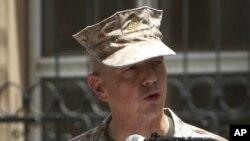 Ауғанстандағы НАТО күштерінің бас қолбасшысы генерал Джон Аллен.