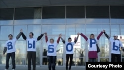 Акция пермской гражданской коалиции «За прямые пермские выборы»