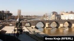 Pamje nga Shkupi