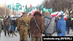 Польскія нацыяналісты і іх праціўнікі ў Гайнаўцы