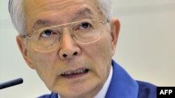 Председатель компании TEPCO Цунехиса Кацумата