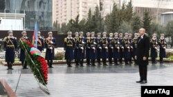 Prezident İ.Əliyev anım mərasimində