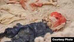 احدى المقابر الجماعية (الارشيف)
