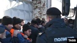 Рейды против мигрантов в Бирюлеве